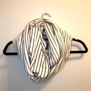 American Apparel Striped Infinity Scarf